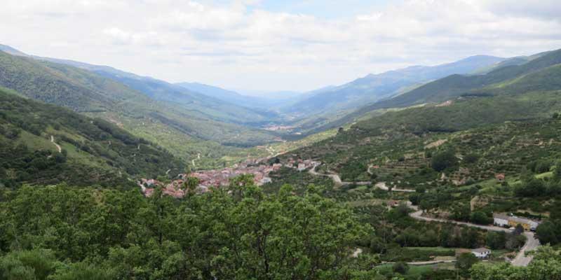El valle del jerte en autocaravana