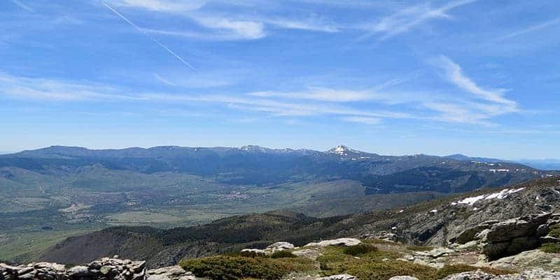 vistas desde el pico