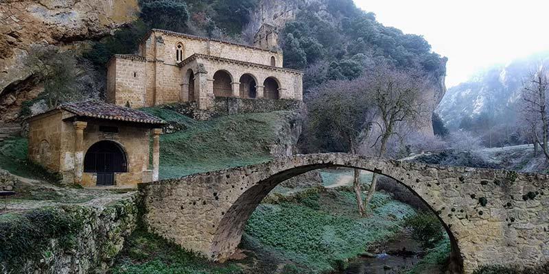 ermita de santa maria de la hoz - pueblos bonitos de burgos