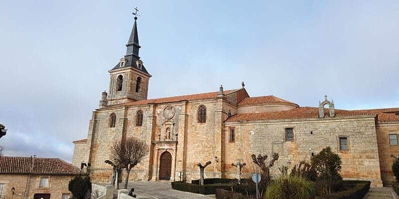 iglesia colegial de san pedro - lerma