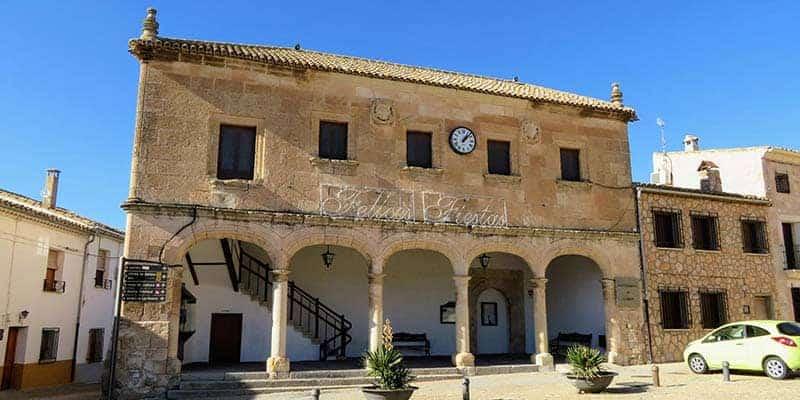 palacio del concejo - alarcon