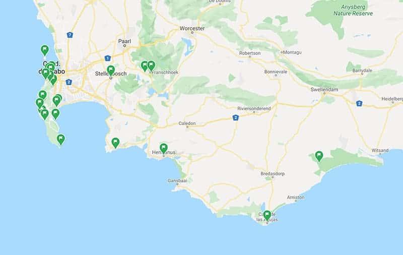 ruta viaje a sudafrica por libre - parte dos
