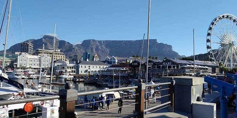 waterfront - ciudad del cabo - viaje a sudafrica por libre en camper