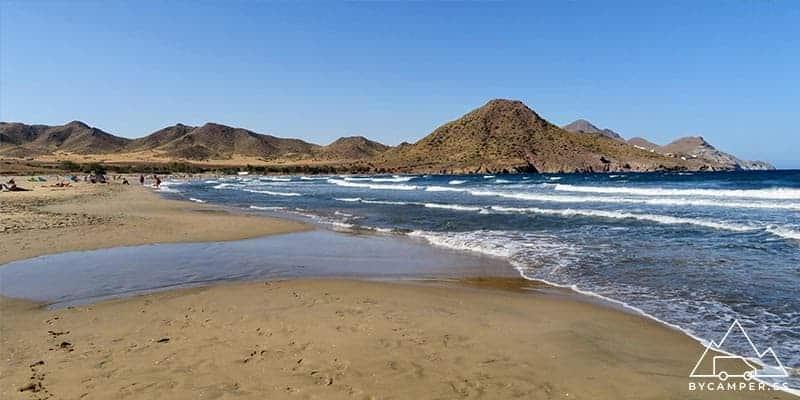 playa de los genoveses - cabo de gata nijar