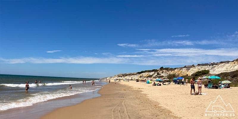 cuesta maneli - playas de huelva
