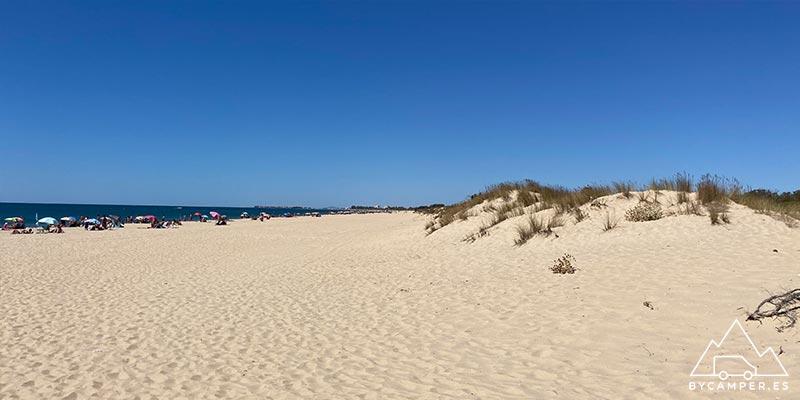 playa de la redondela - playas de huelva