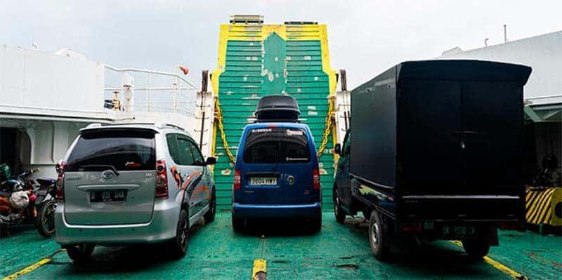 ferry indonesia mini camper