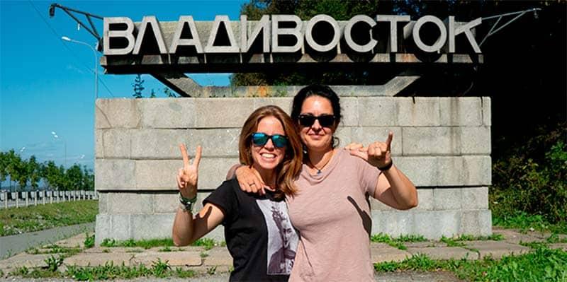 van de viaje - Vladivostok