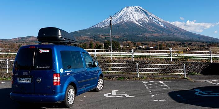 van de viaje en japon