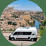 alquiler camper madrid - ngorongoro