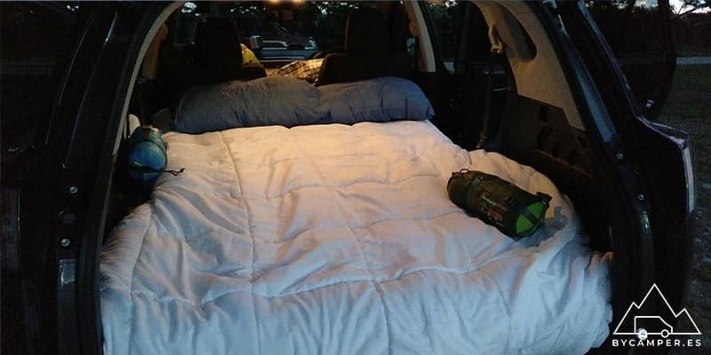 furgoneta camper pequeña